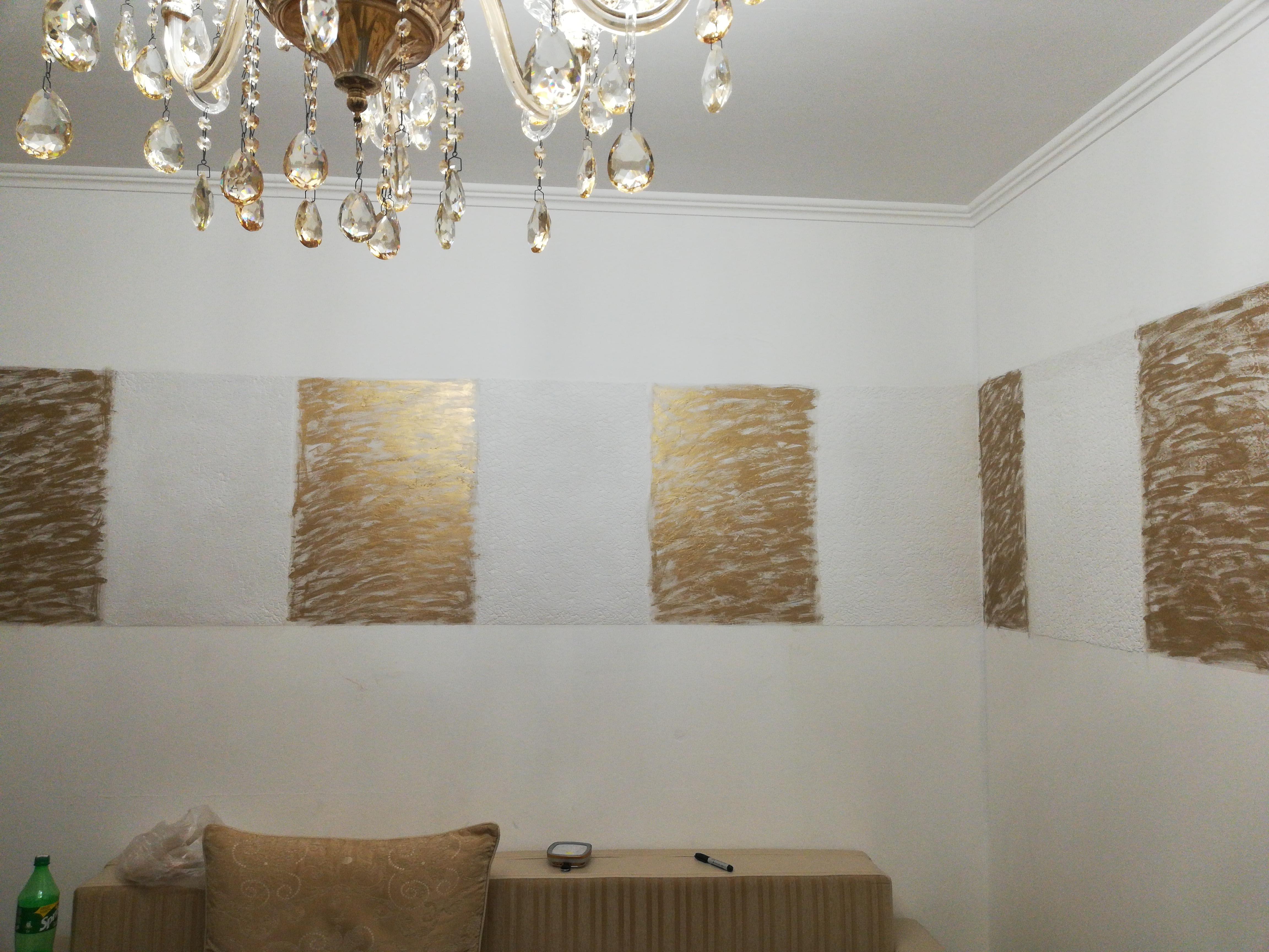 Фото Венецианская и рельефное полотно.