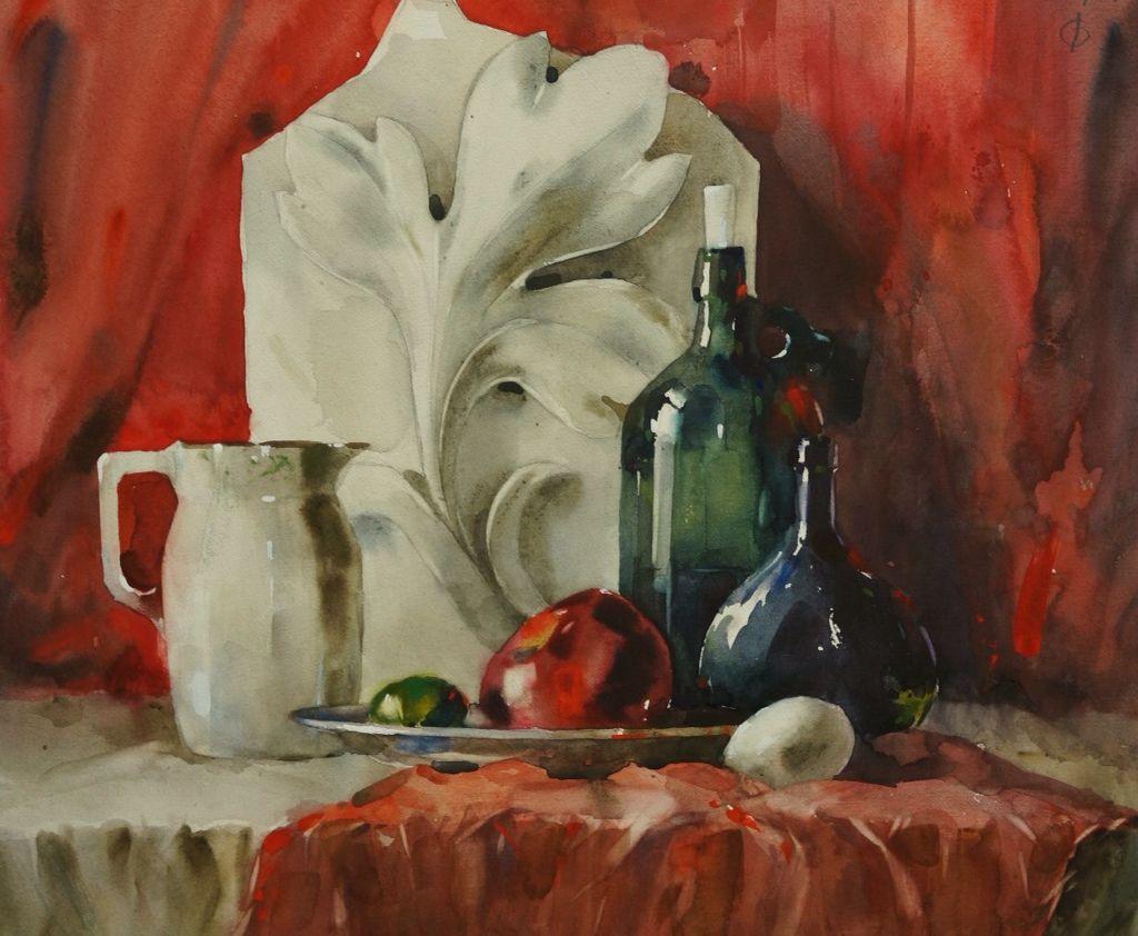 Фото Натюрморт, акварельные краски, на заказ