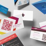Создать дизайн визитки