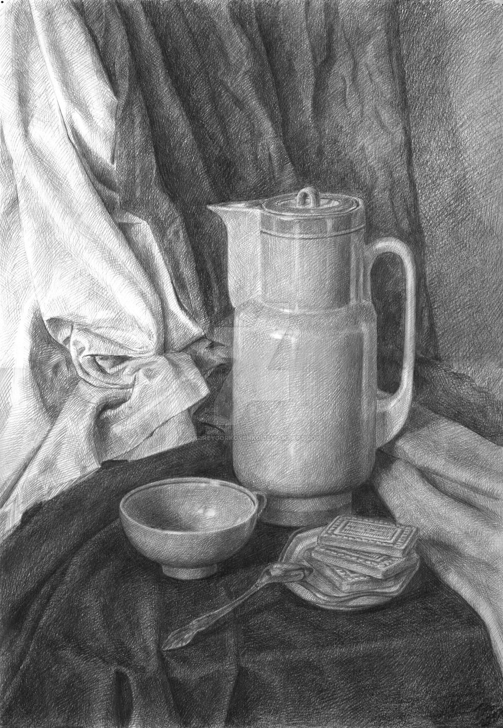 Фото Натюрморт, рисунок, основы рисование, на заказ
