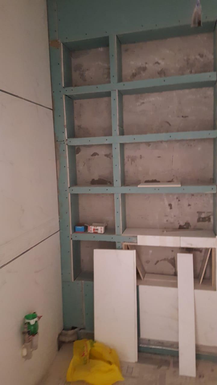 Фото Установка короба для санузла.