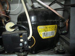 Фото замена нового компрессора