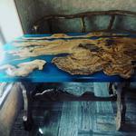 Столы с эпоксидной смолой на заказ