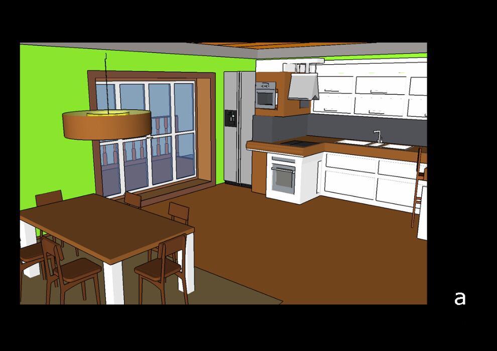 Фото Жилой дом, кухня