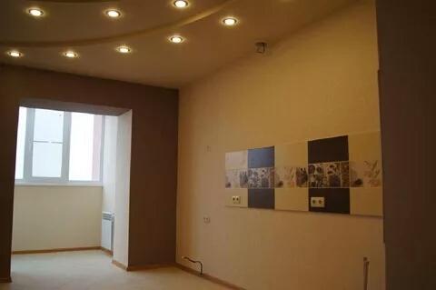 Фото Выравнивпние стен в 90°, шпаклевпние, монтаж гипсокартона с посветкой, наклейка обоев, слом стен, утепление балкона