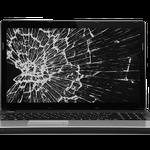 Заменить,треснул экран ноутбука