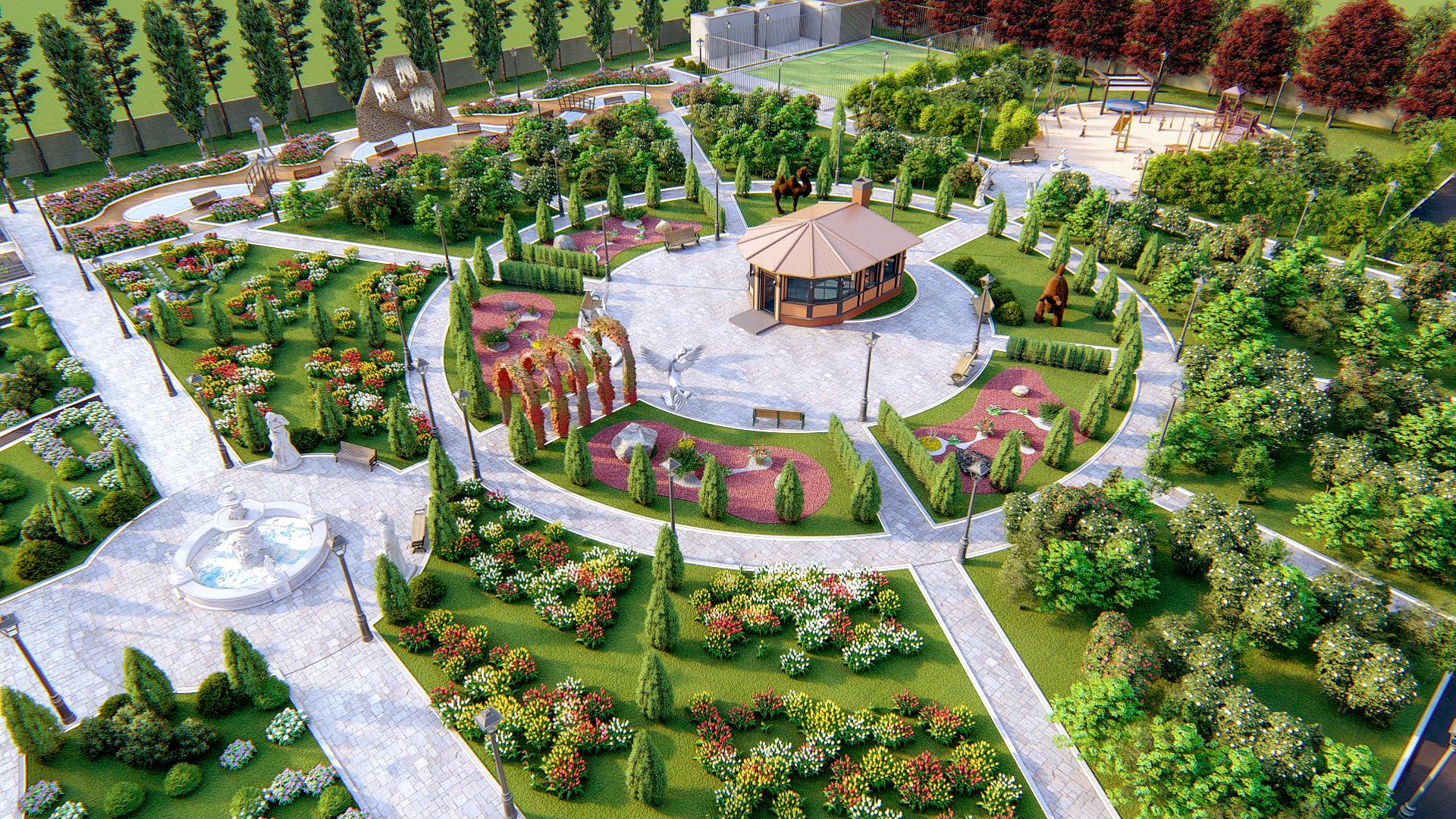 Фото Проект ландшафтного дизайна загородного дома