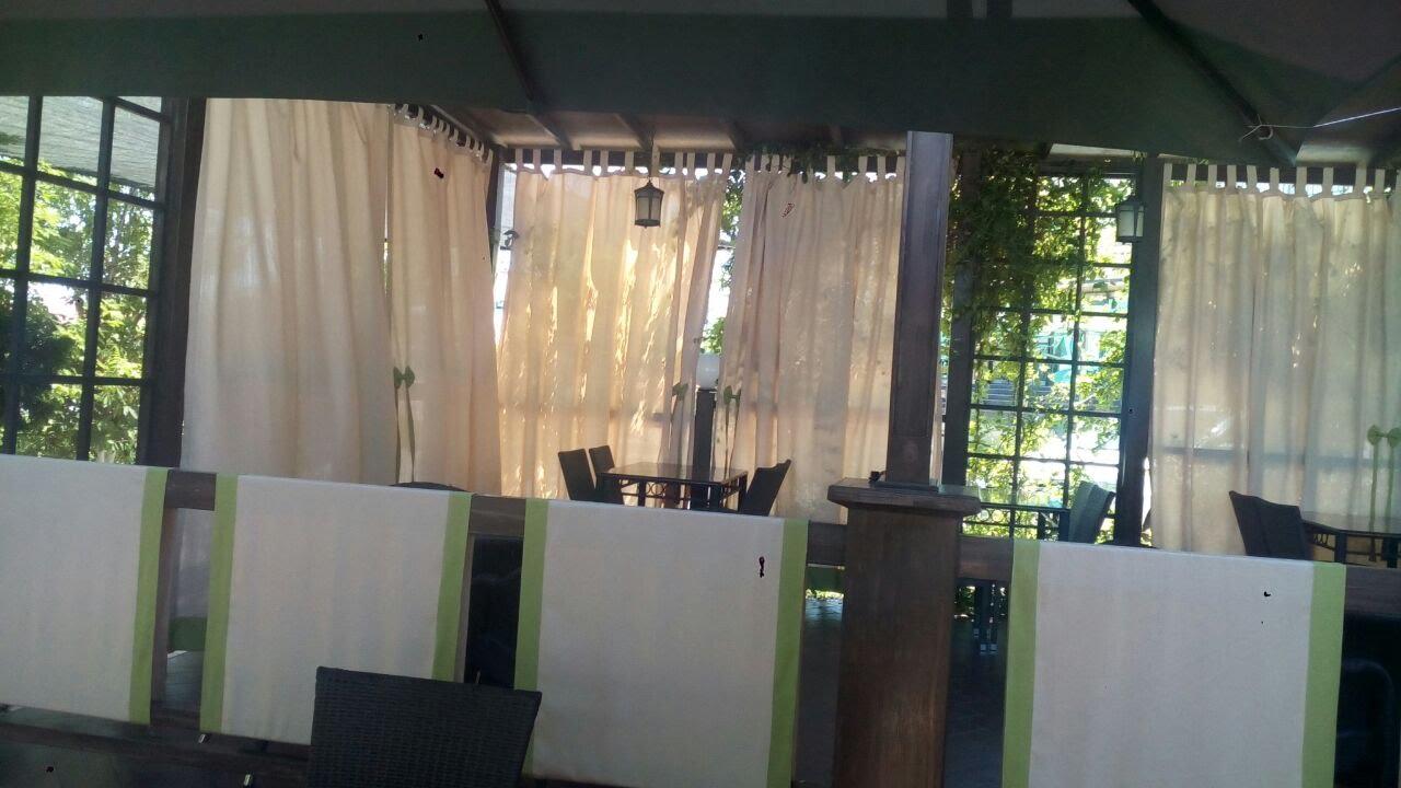 Фото Разработка дизайна летнего кафе.